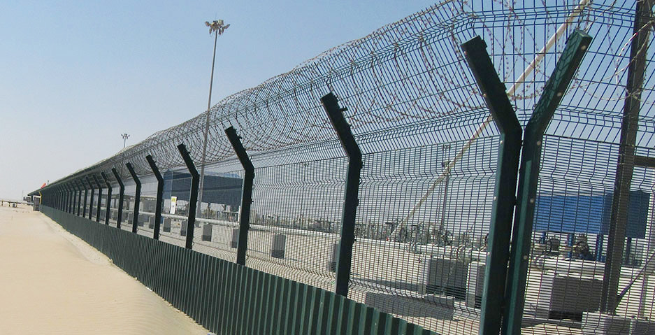 Welded Mesh Fence System | Fence international
